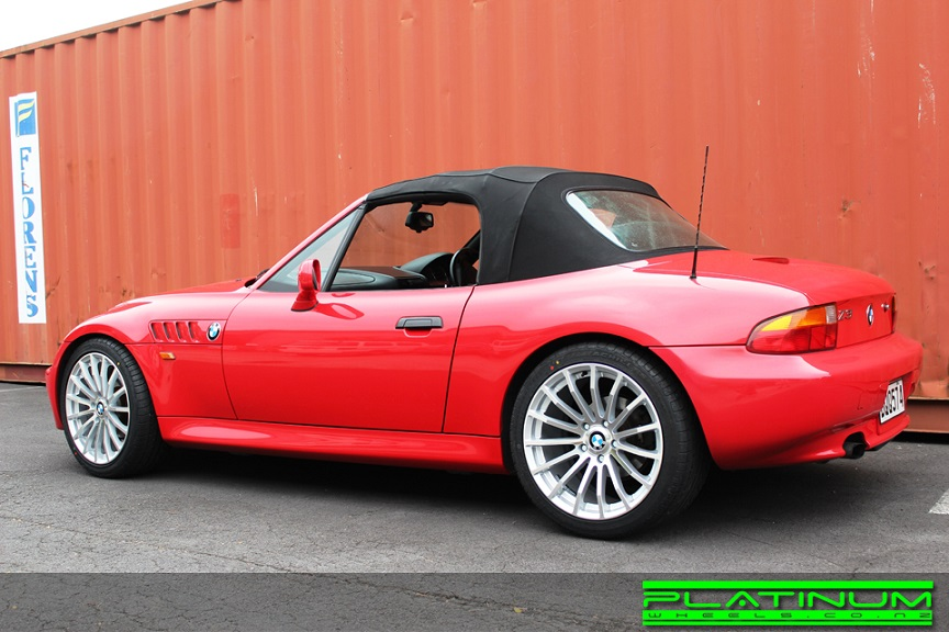 BMW Z4 on TSW Mallory