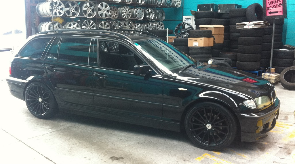BMW 3series on TSW Mallory