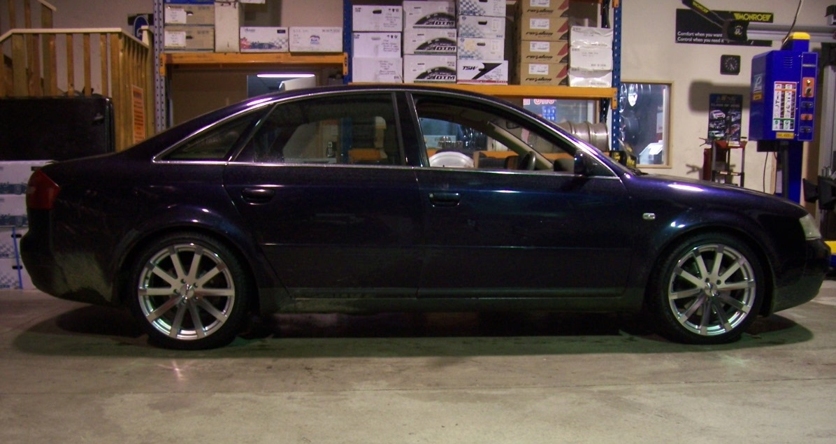 Audi A6 on TSW Brooklands