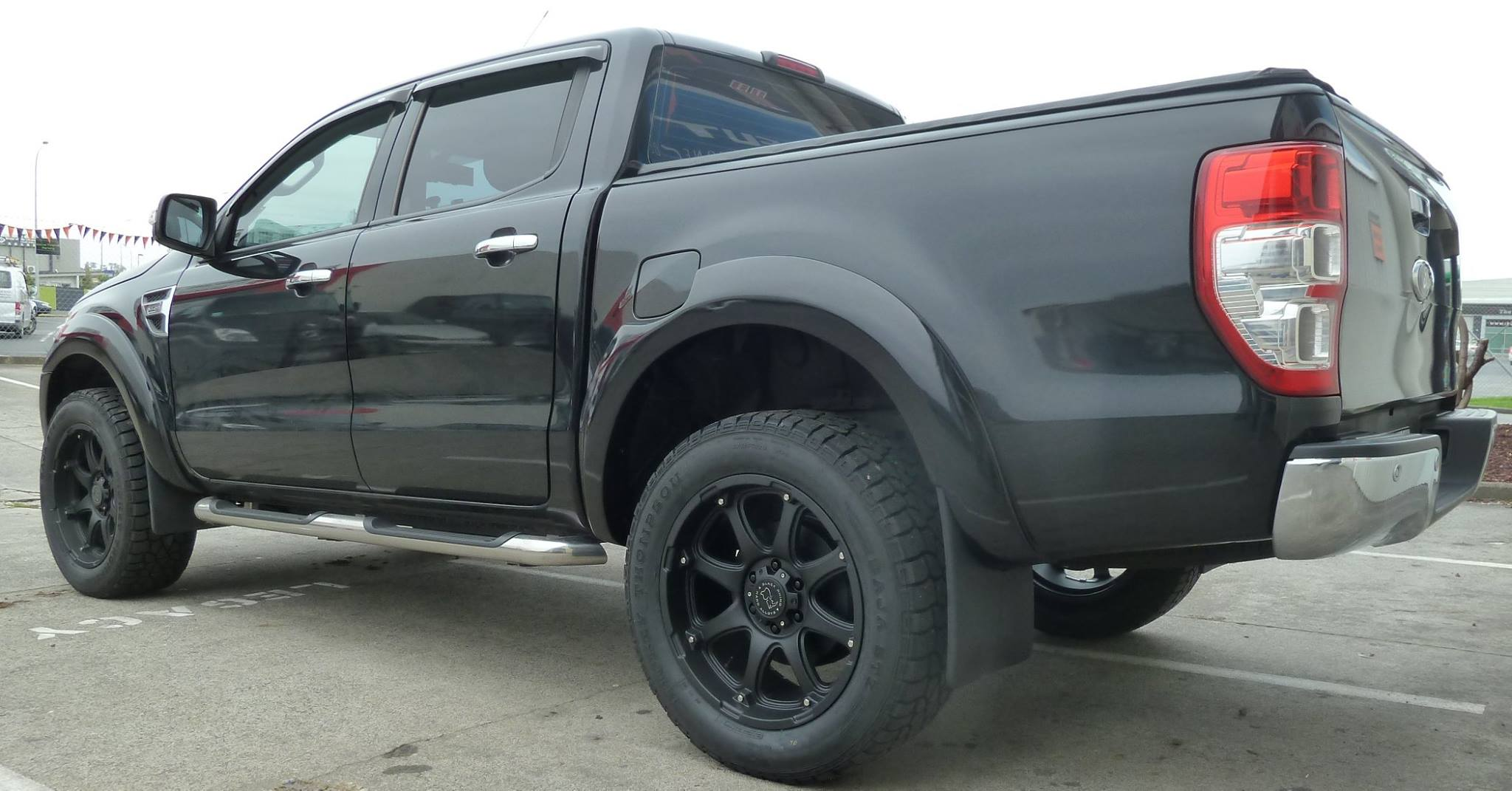 Ford Ranger on Black Rhino Glaims