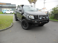Ford Ranger on Black Rock Type8P