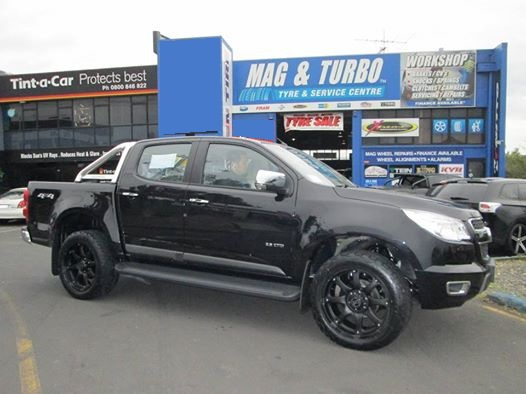 Holden Colorado on Black Rhino Glamis