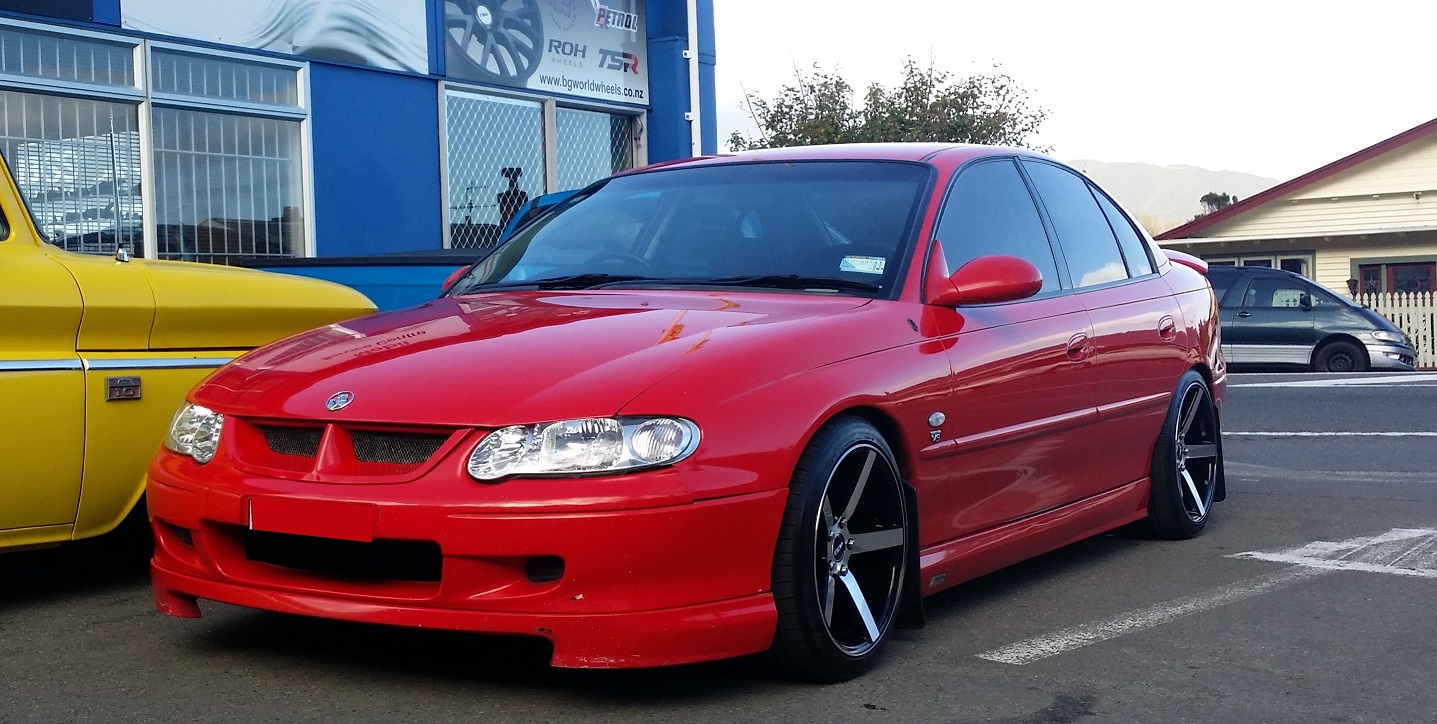 Holden Commodore on BGW Torque