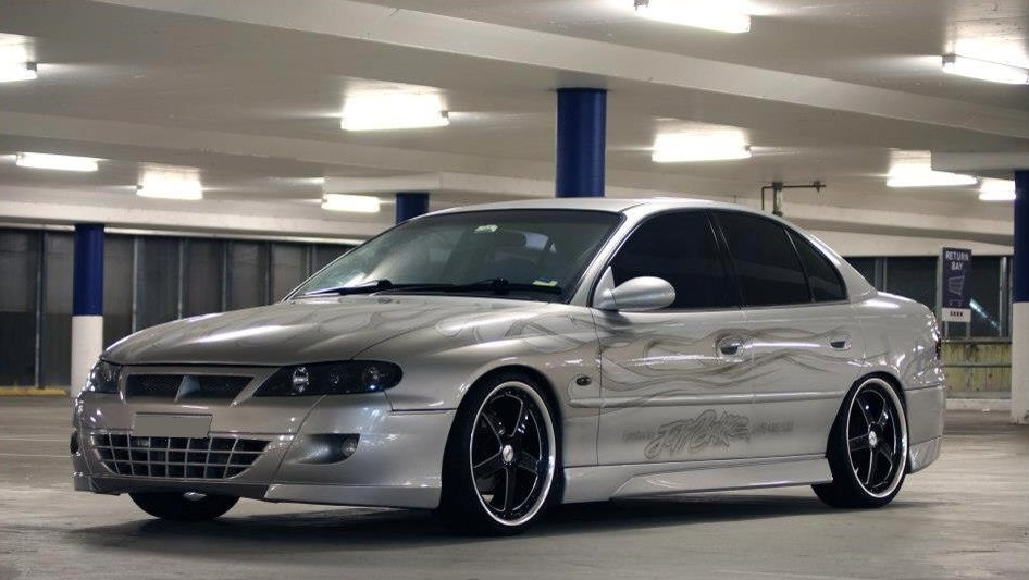 Holden Commodore on TSW Carthage
