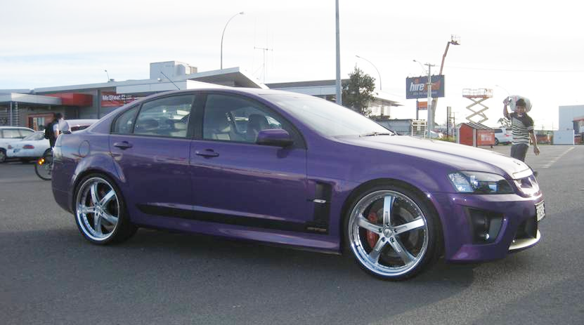 Holden Commodore on TSW Jarama