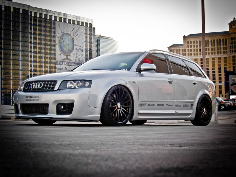 Audi A4 on TSW Mallory