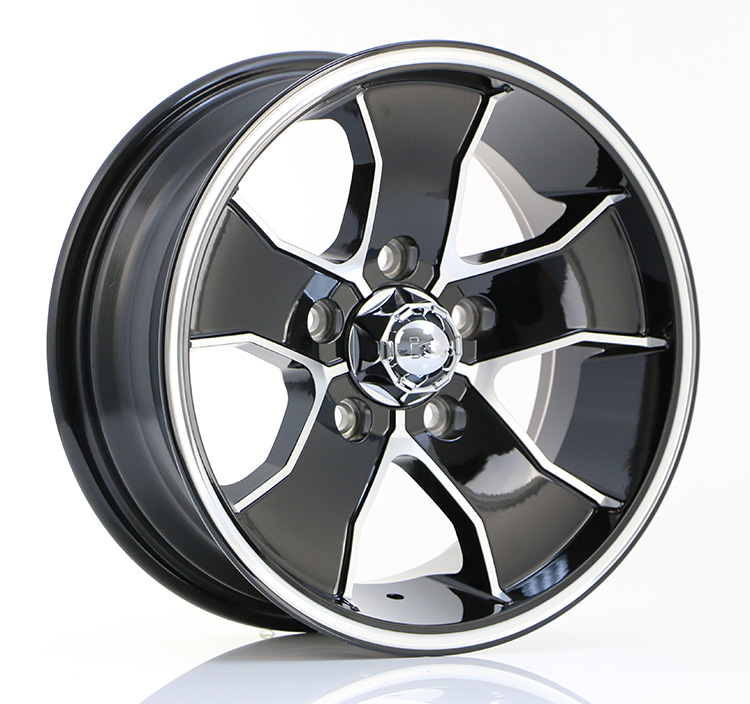 ION ION14[Gloss Black w/Machined Spoke & Groove]