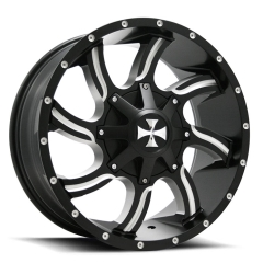 N9102-2983M18 - 20x9 TWISTED 6/139.7 ET18 HR106.1 BLK