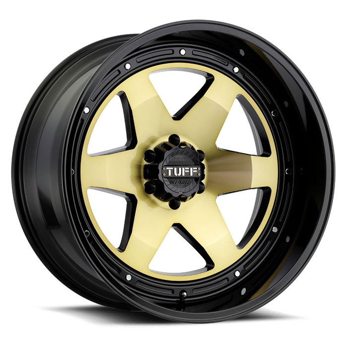 TUFF T1A[Gold w/Gloss Black Lip]
