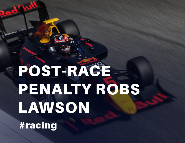 Post-race penalty robs Lawson of Monza podium