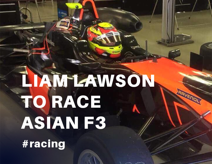 Liam Lawson to race Asian F3 this weekend