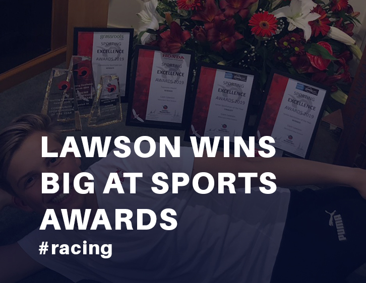 Lawson wins big at Sports Awards. Three trophies from Counties Manukau Sport