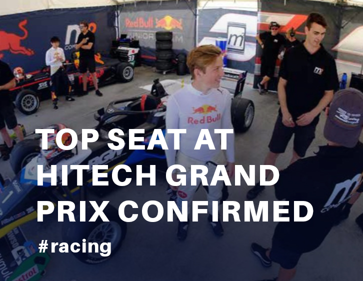 Top seat at Hitech Grand Prix confirmed!