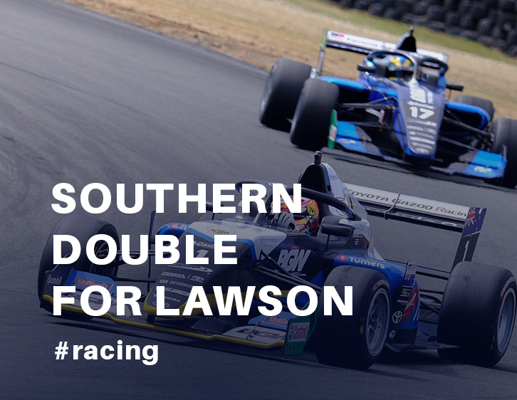 Southern double for Lawson and a points lead heading North