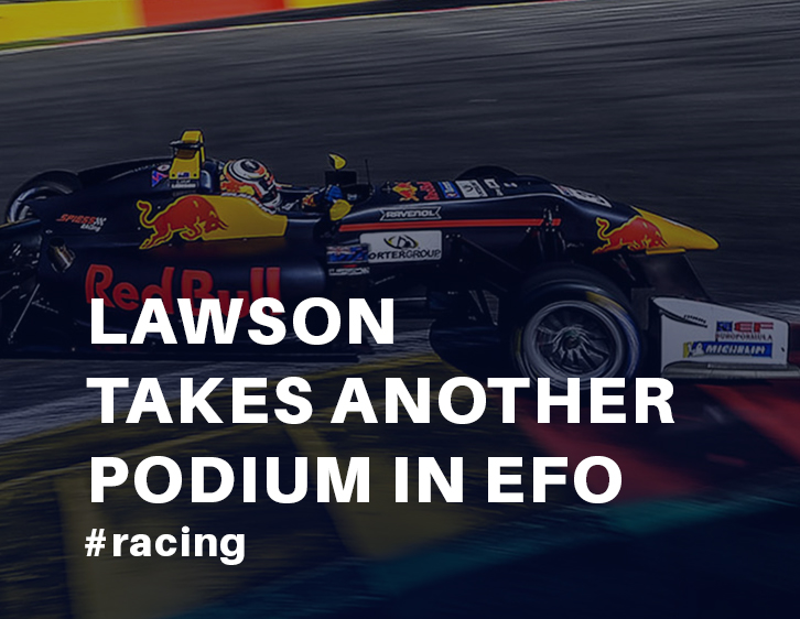 Lawson takes another podium in EFO