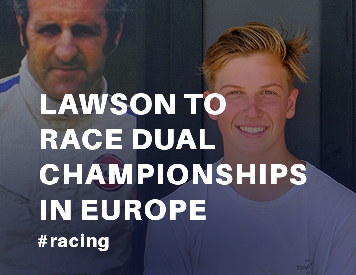 Lawson to race dual championships in Europe