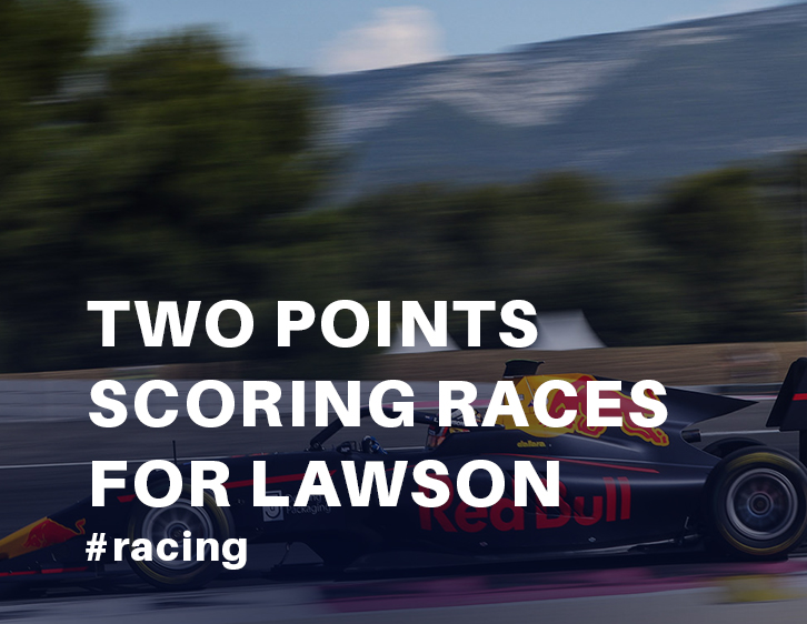Two points scoring races for Lawson